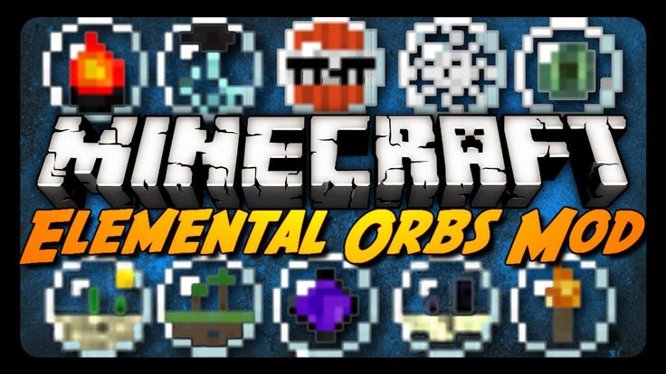 Minecraft Mod Review: ELEMENTAL ORBS!