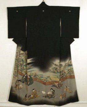 Mourning dress    mofukui kimonos - Bing Images