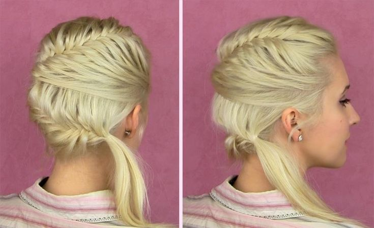 Lilith Moon: French Braids, Easy Hair, Braids Hairstyles, Fashion Beautiful, Hair Tutorials, Braids Tutorials, Layered Hair, Hair Style, French Fishtail Braids