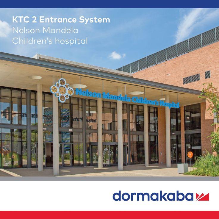 KTC Entrance System at the Nelson Mandela Children's Hospital