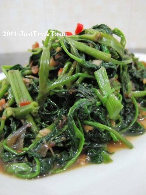 Just Try & Taste: Tumis Kangkung Belacan