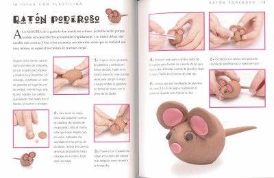 Modelar plastilina - Ratón