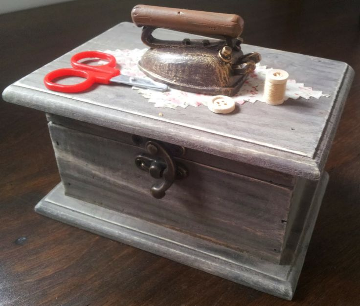 sewing box, Craft with Ruth Cartwright