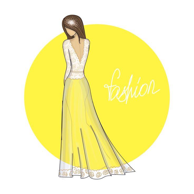 Wedding Fashion sketch