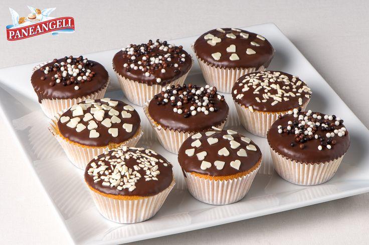 #Cupcake #banane e #cioccolato. Scopri la #ricetta su http://www.paneangeli.it/ricetta/-/ricetta/cupcake-banane-e-cioccolato;jsessionid=7148662657C8B864597169F3EBC8739C