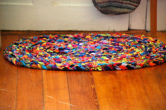 Rugs Made From Socks Winters In Wonderland Recycling
