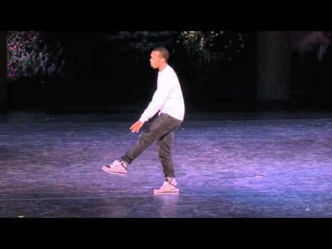 Lil Buck Swan at Vail International Dance Festival........one of those performances that is soooo beautiful, that I am bawling my eyes out!!!