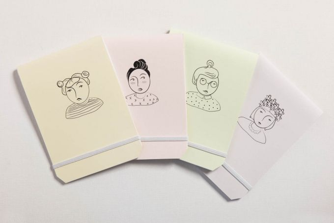 Girlfriends Notebook by Past Present