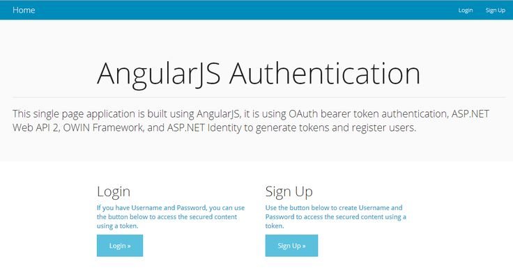 Part 1 of 2 where I'll cover using token based authentication by using ASP.NET Web API 2, Owin middleware, and ASP.NET Identity, the API will support CORS so it can be consumed from any front-end application