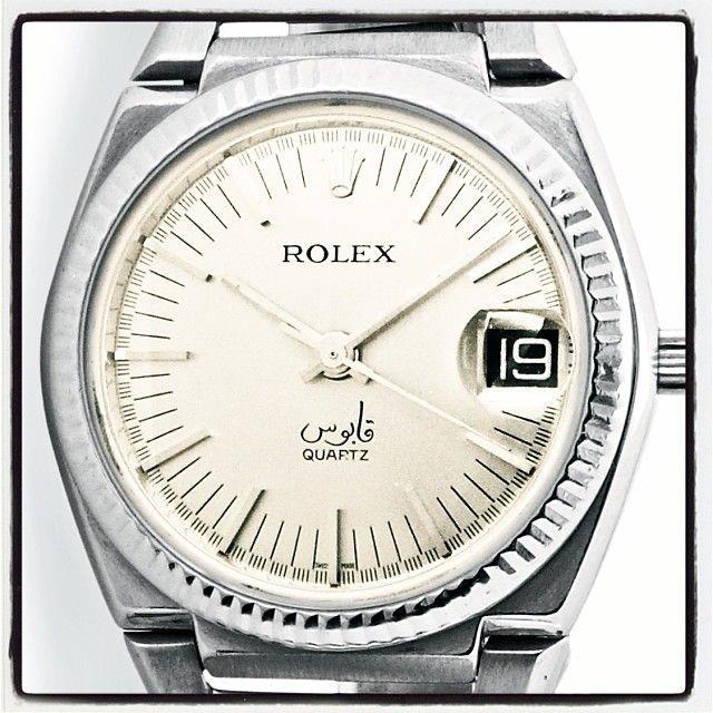 Rolex ref. 5100 Oman #rolex #quartz #qaboos #oman #vintagerolexapp #johngoldberger