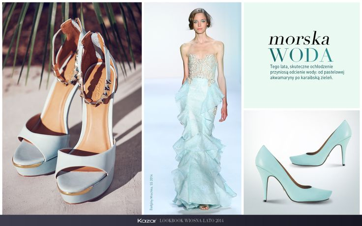 #kazar #trendy #new #look #summer #sprig #wiosna #lato #moda #fashion #styl #buty #shoes #szpilki #torba #bag #morska #woda
