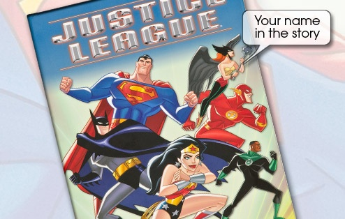 Justice League | Personalised Children's Books £14.99 - Charlie?
