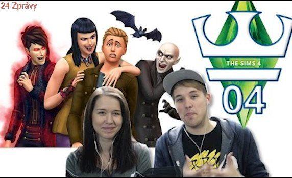 Jirka a Katka Hraje - The Sims 4 S03 E04 - Upíři