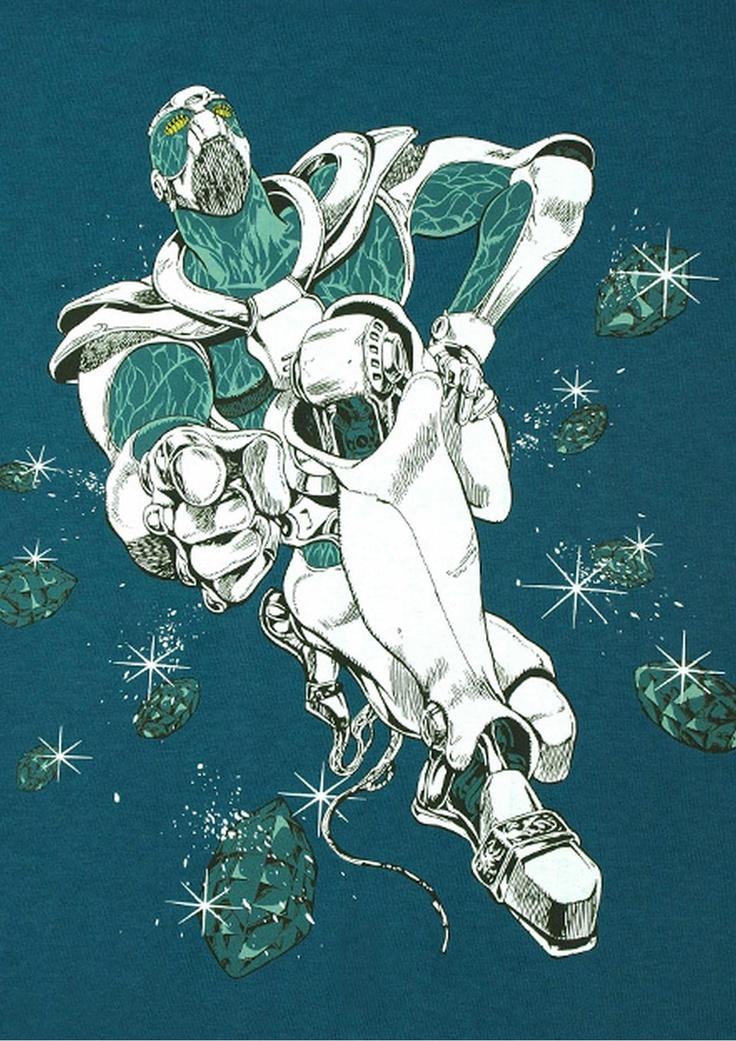 DIOとの戦いにより、その身を投じてDIOの能力を暴いた「花京院典明」のスタンド『ハイエロファントグリーン』。
