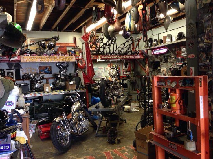362 best bike shop images on pinterest | motorcycle garage, garage