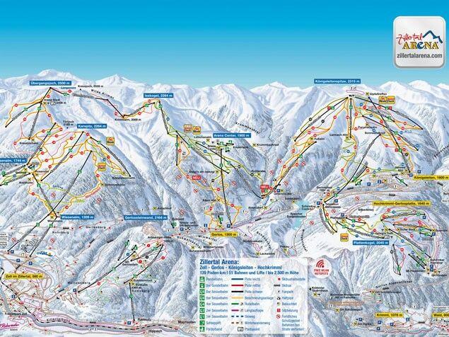 Oostenrijk Zillertal Arena Gerlos
