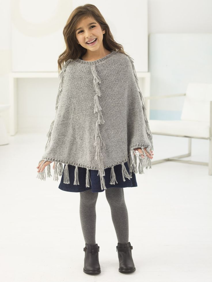 Poncho Vest Knitting Pattern : Best images about knit ponchos capes on pinterest