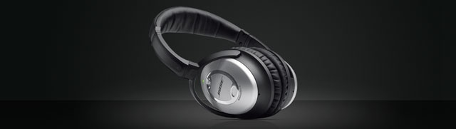 Bought these for my husband for his birthday. He loves them! Best reviews for sound-cancelling headphones...Bose   QuietComfort® 15 Acoustic Noise Cancelling® headphones   Entry Page
