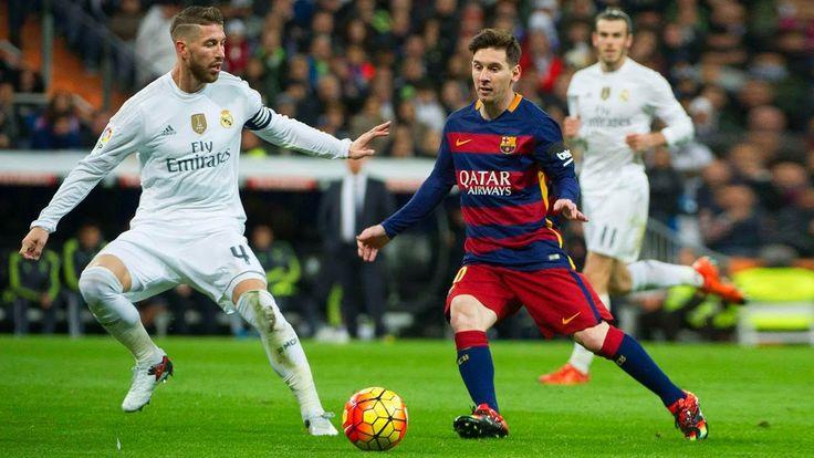 Barcelona vs Real Madrid (1/2) Goles Resumen El Clásico 2016 - YouTube