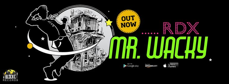 RDX - Mr. Wacky - OUT NOW (FB Cover Design)
