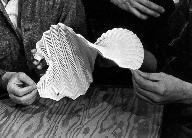 Josef Albers: Teaching Origami | Flickr - Photo Sharing!