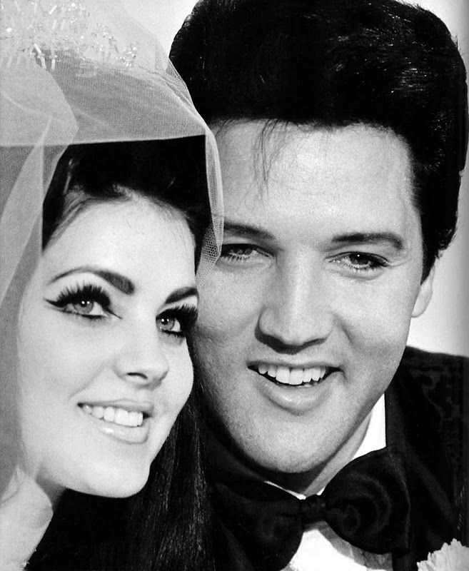 Elvis and Priscilla were married on May 1, 1967 in Milton Prell's suite at the Aladdin Hotel in Las Vegas, Nevada.