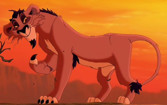 """Nuka (Andy Dick) from """"The Lion King II:Simba's Pride"""""""