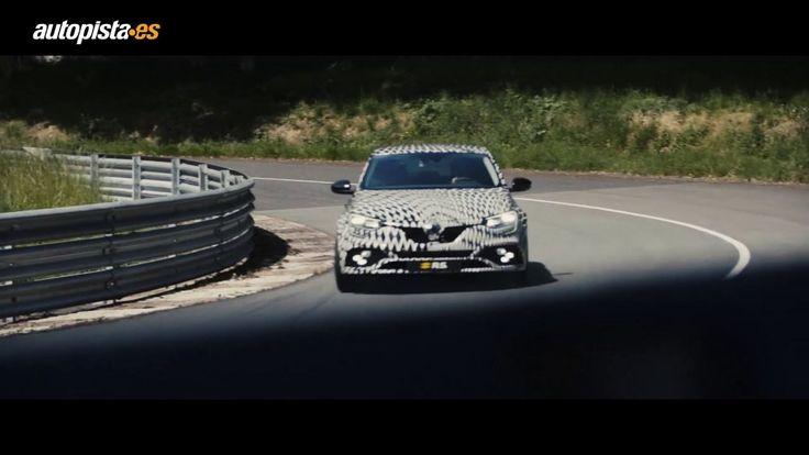 El nuevo Renault Mégane RS, en su habitat