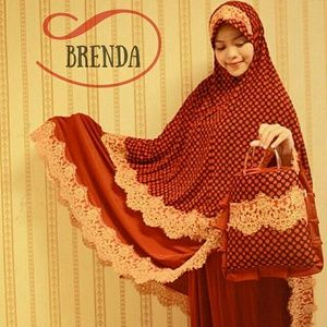 Mukena Cantik Brenda, Mukena Terbaru, Mukena Syar'i