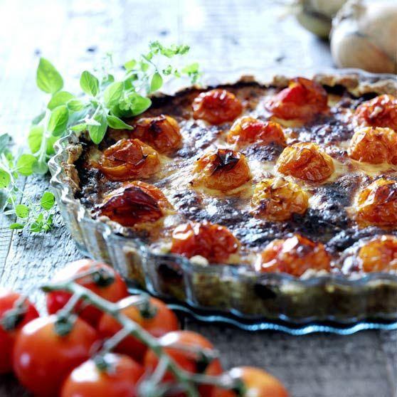 Tomattærte - Opskrifter