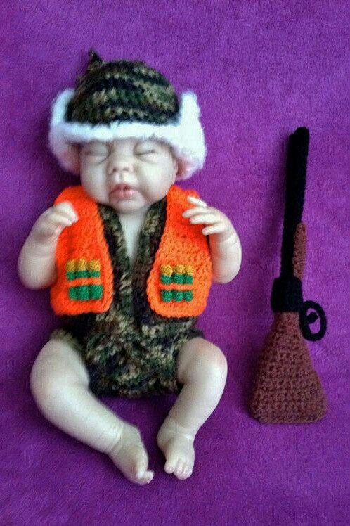 Hunter Newborn Photo Shoot