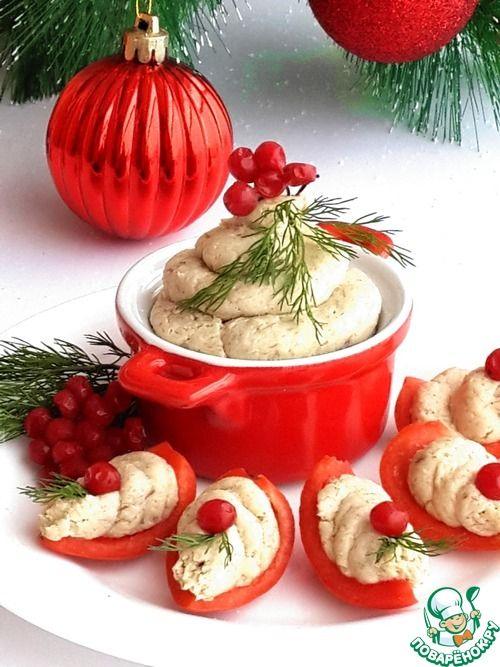 Паштет из скумбрии и плавленого сыра - кулинарный рецепт