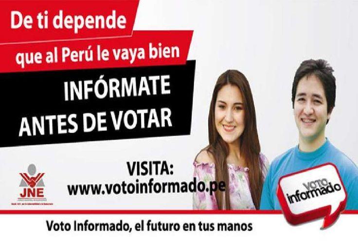 #DetidependeelfururodelPerú Elecciones Presidenciales 2016, 10 de abril.
