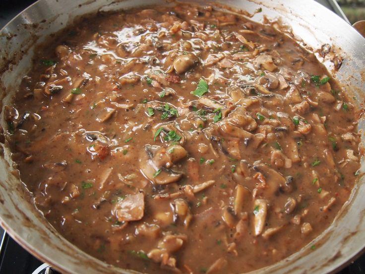 crumbed chicken schnitzel recipe with gravy