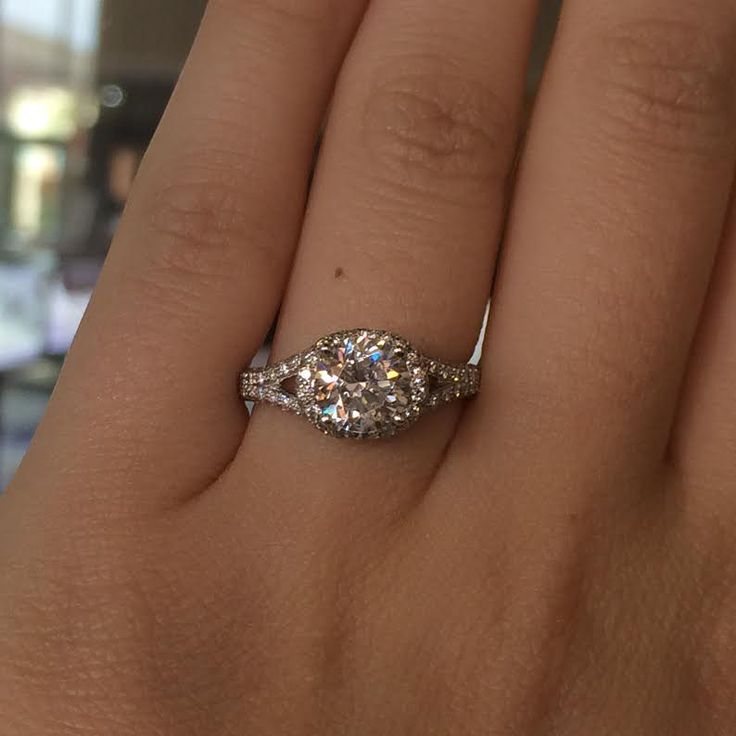 Amazing Find this Simon G MR k White Gold Diamond Engagement Ring at Diamonds By Raymond