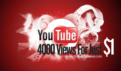 Buy $1 YouTube (4000 high quality views) The best place where you can buy YouTube views with PayPal, credit card, or Bitcoin. And delivered Instnatly. Click for more detail :) #YouTubeViews #YouTube