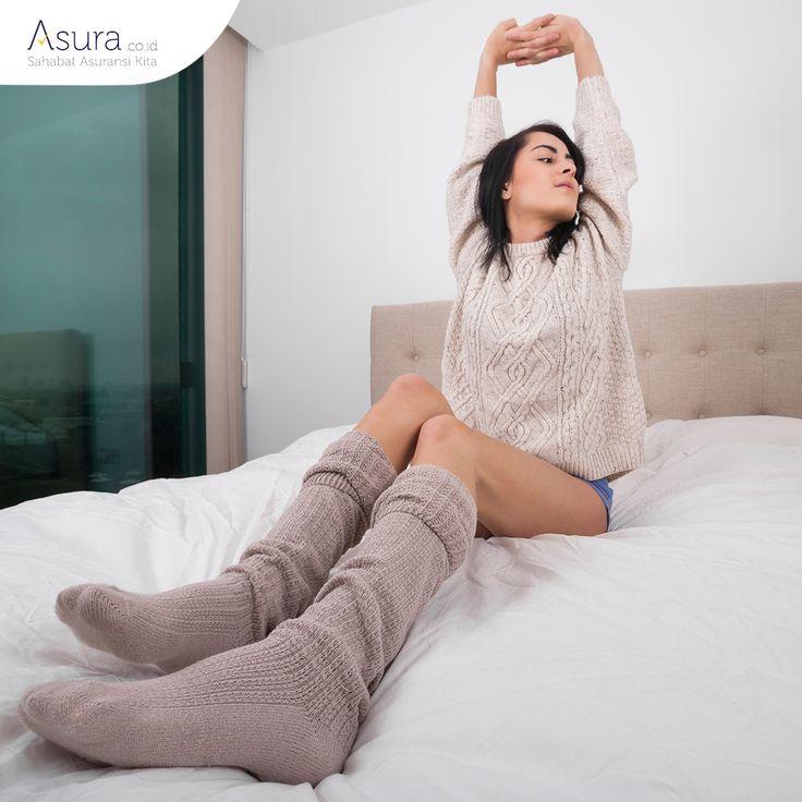 Selamat malam Sahabat Asura. Sebelum Anda tidur, yuk biasakan melakukan peregangan. Aktivitas ini dapat membantu mencegah rasa sakit pada otot dan meningkatkan kualitas tidur Anda.