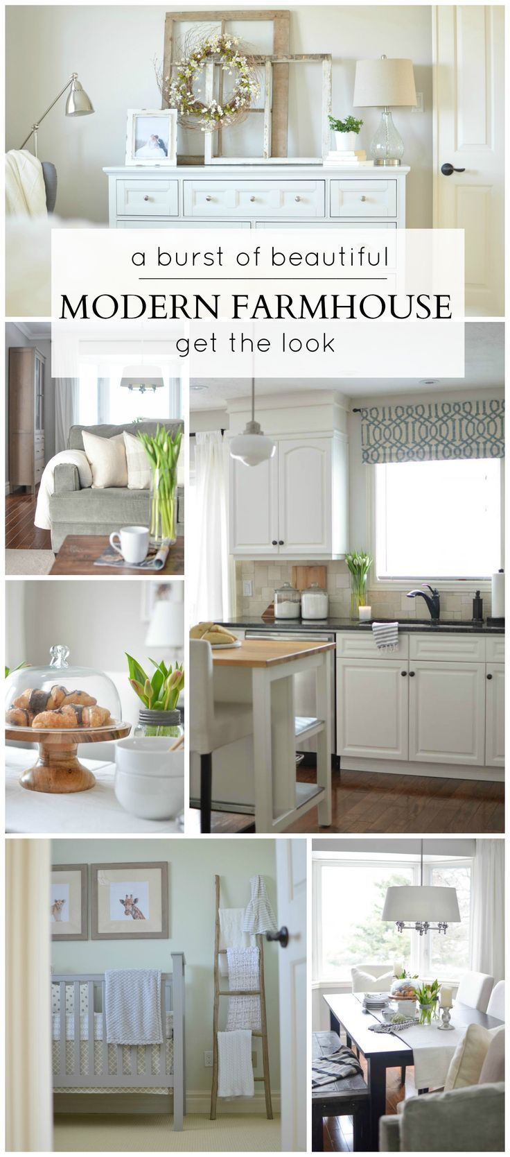Get The Look Of This Beautiful Modern Farmhouse  A Burst Of Beautiful
