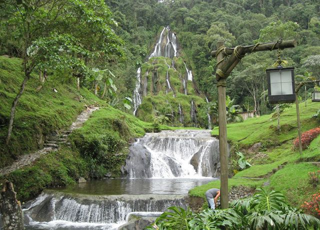 Pereira, Colombia  Hot water spring - It was breathtaking!