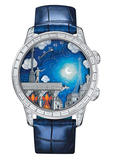 Van Cleef & Arpels romances us with its latest Poetic Complication Series, called the Poetic Wish, and featuring a story of two lovers separated in Paris.