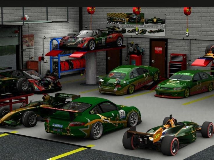 30 best images about deltec racing team designs on for Car collector garage plans