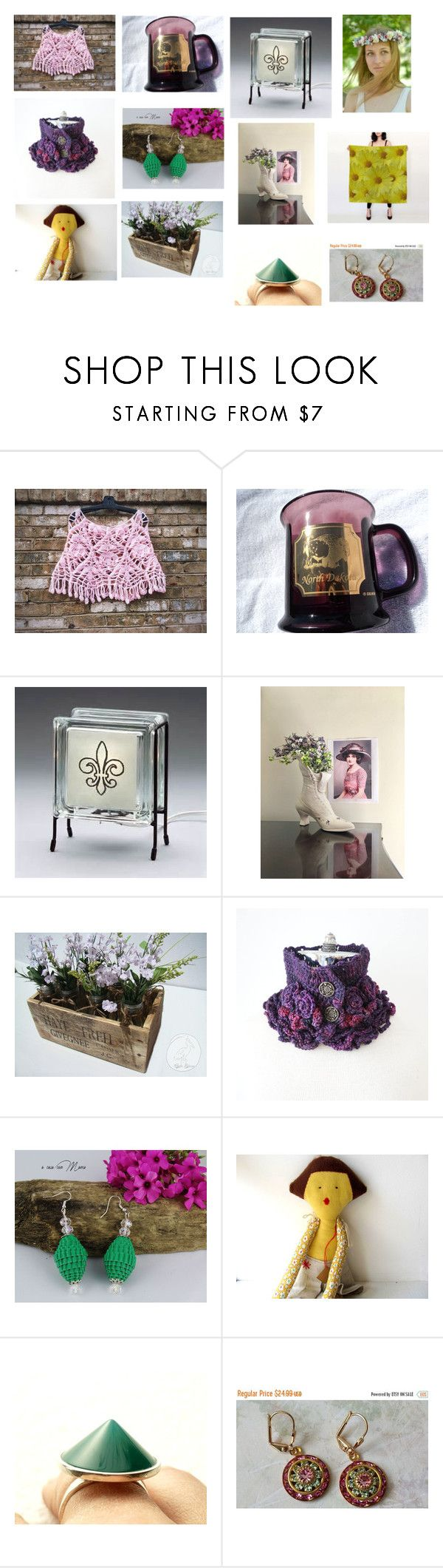 """""""Idee regalo da Etsy"""" by acasaconmanu ❤ liked on Polyvore featuring Anello"""