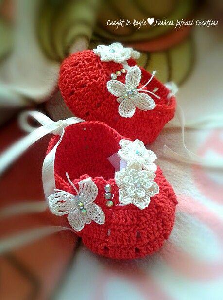 Baby girl ballerinas .. size 0~3 months ♥♥