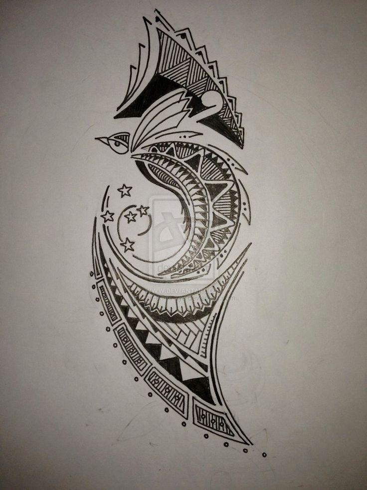 Bird of paradise tattoo - photo#9