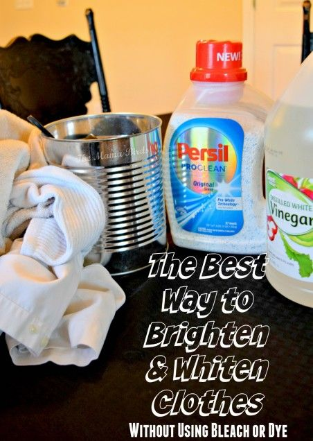 The Best Way to Whiten Clothes Without Using Bleach or Dyes