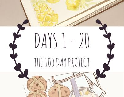 "First 20 days of The 100 Day Project. My focus is food illustration using watercolour, ink, Adobe Illustrator Draw and the iPad.   Enjoy  ""Days 1 - 20: The 100 Day Project"" https://www.behance.net/gallery/51888055/Days-1-20-The-100-Day-Project"