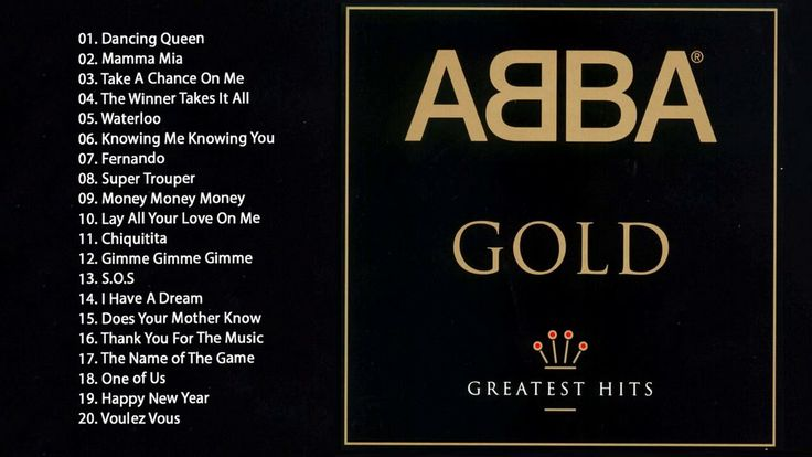 ABBA : Greatest Hits - The Best of ABBA GOLD