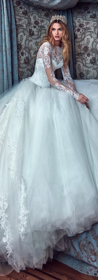 Galia Lahav Spring 2017 Collection - Belle The Magazine