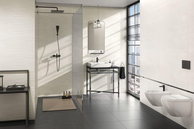 5 colecții noi de gresie și faianță cu un design modern pentru camera de baie   Paradyz