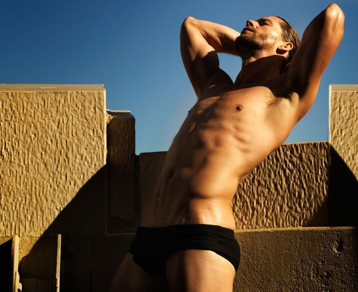 Josh Button, male model and actor (Image Courtesy of Ford Models)